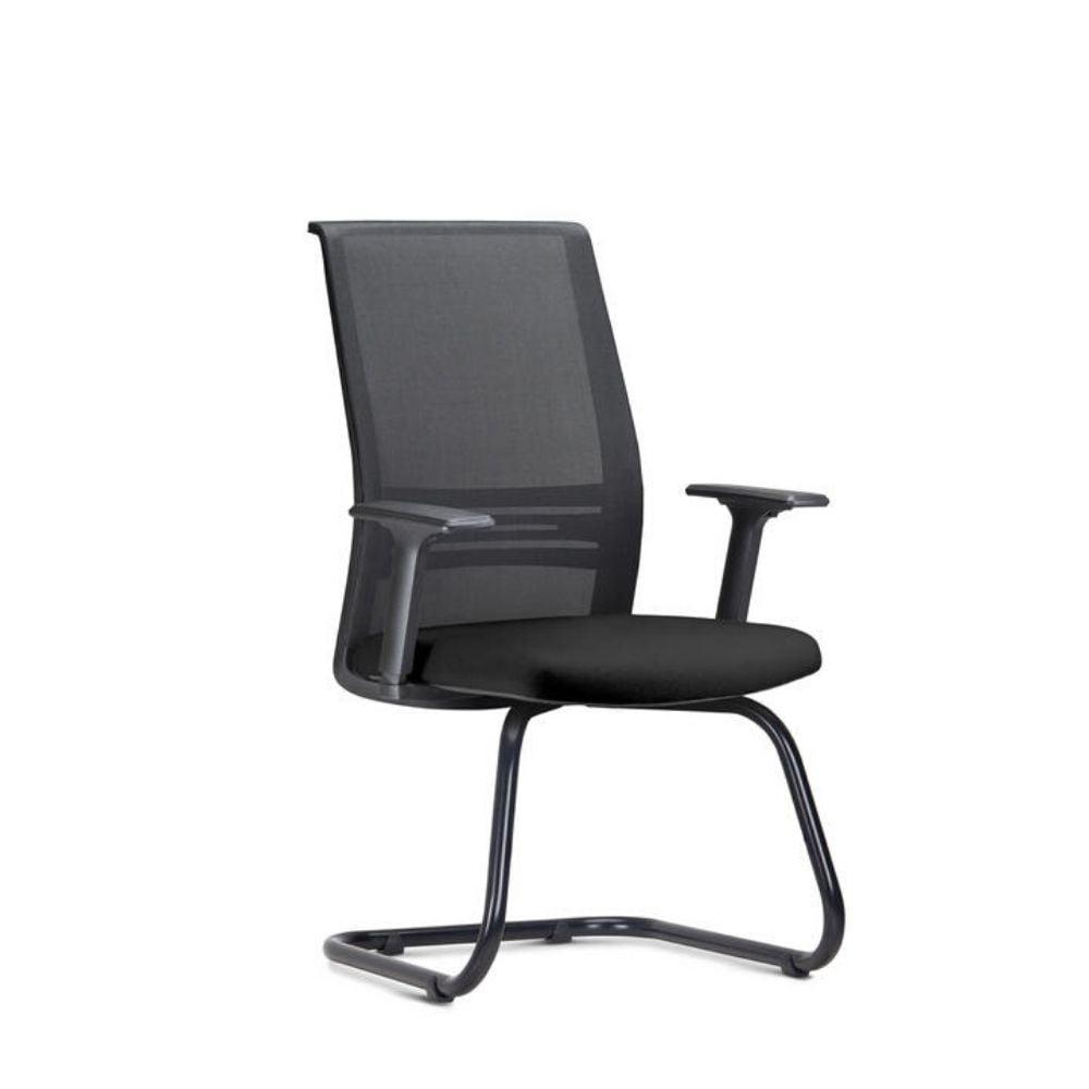 Cadeira Torres Agile fixa - Estrutura preta