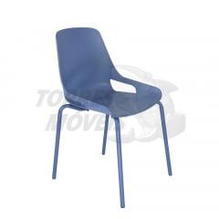 Cadeira Ella - pé tubular