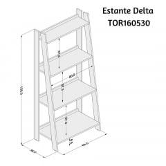 Estante delta - TOR160530