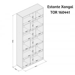 Estante Xangai - TOR160441