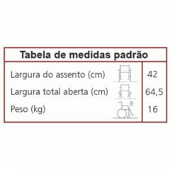 Cadeira de rodas TORCantu