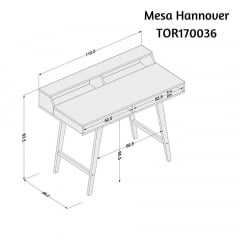 Mesa Hannover - TOR 170036