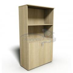 Armário estante com 2 portas baixas